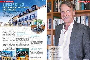 Artikel im Magazin Gesundheitsbote NRW über die Lifespring-Privatklinik