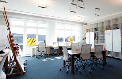Kunsttherapie-Raum der Lifespring-Privatklinik