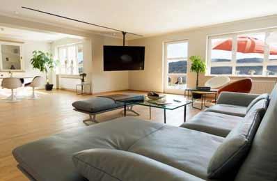 Wohnzimmer der Lifespring-Privatklinik