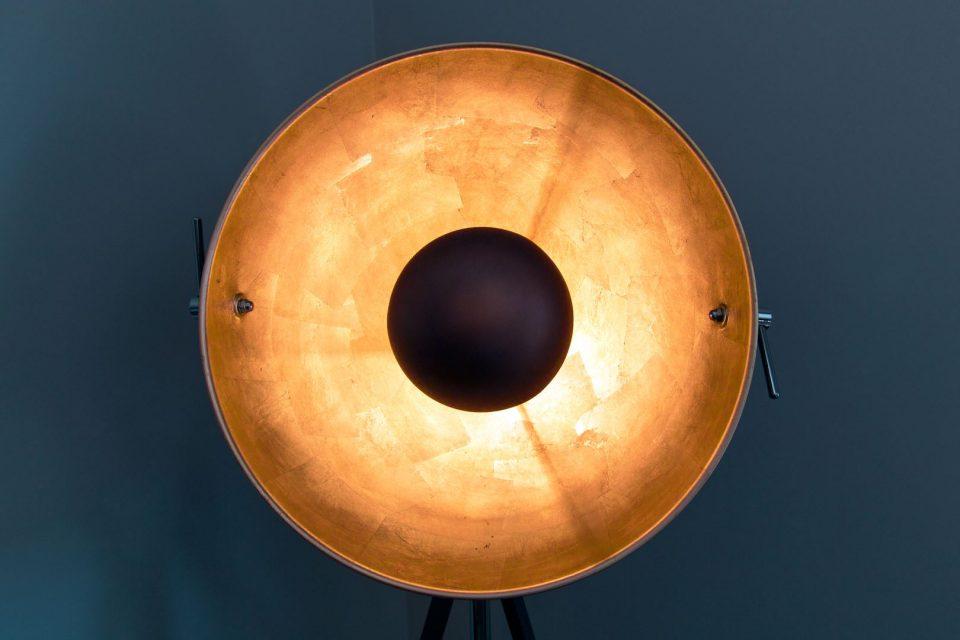 Zimmerlampe für eine gemütliche Atmosphäre