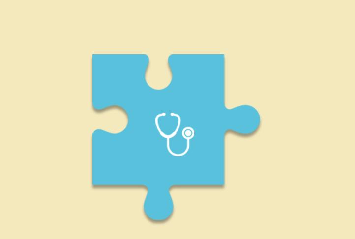Puzzleteil Medizin