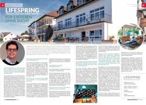 Artikel im Magazin Gesundheitsbote NRW zum Thema Sucht