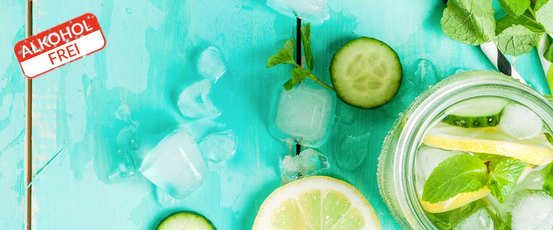Das Lifespring-Küchenteam empfiehlt: Erfrischender Cocktail für eine kühle Sommerzeit
