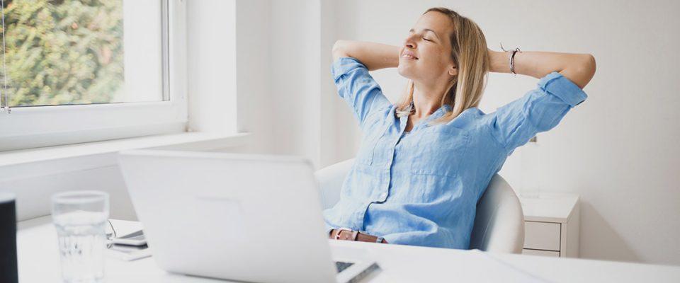 Blogbeitrag 5 Tipps für gute Laune im Homeoffice