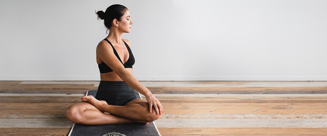 Yoga zur Stärkung von Körper und Geist